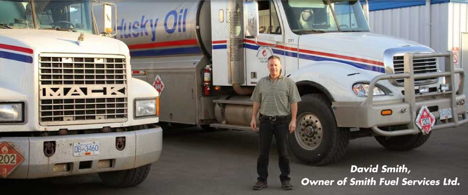David Smith, Owner of Smith Fuel Services Ltd.